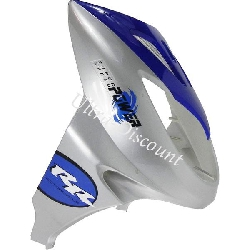 Front Fairing for Scooter (Nose Cone) - Blue
