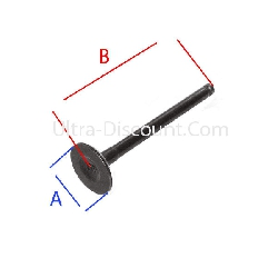 Exhaust Valve for Baotian Scooter BT49QT-12
