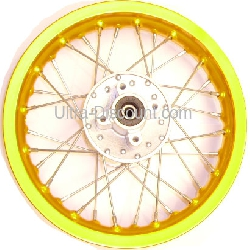 12'' Rear Rim for Dirt Bike (type 1) - Gold