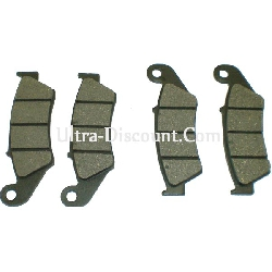 Front Brake Pads for ATV Shineray Quad 300cc STE