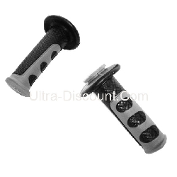 Non-Slip Handlebar Grip - Black-Gray