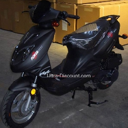 Chinese Scooter 50cc - Black
