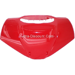 Front Fairing Windshield for Scooter - Red