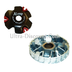Koso High Speed Variator for engines 50cc GY6 4-stroke